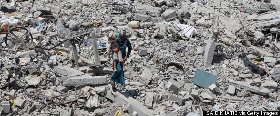 gaza bombing israel