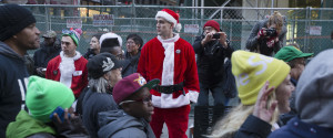 Santacon New York Protest