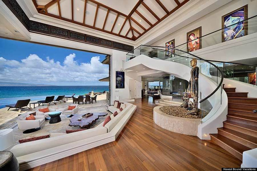 The gorgeous hawaii rental homes obama should 39 ve booked for Most beautiful house interiors