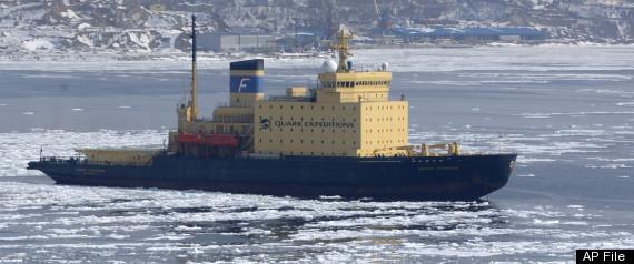 RUSSIA ICEBREAKER SHIP