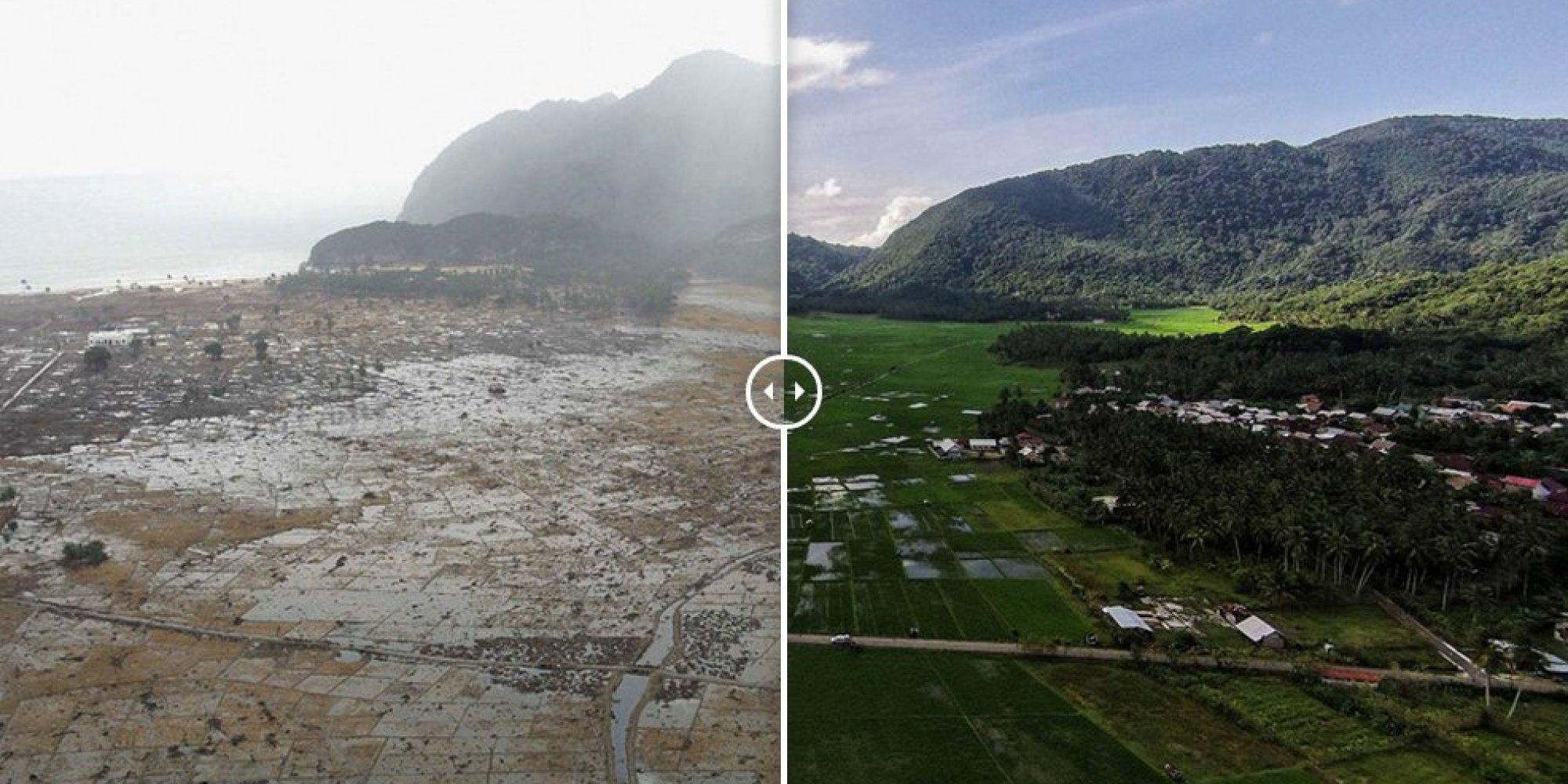 Tsunami de Asia - Maremoto un Desastre Natural en asia