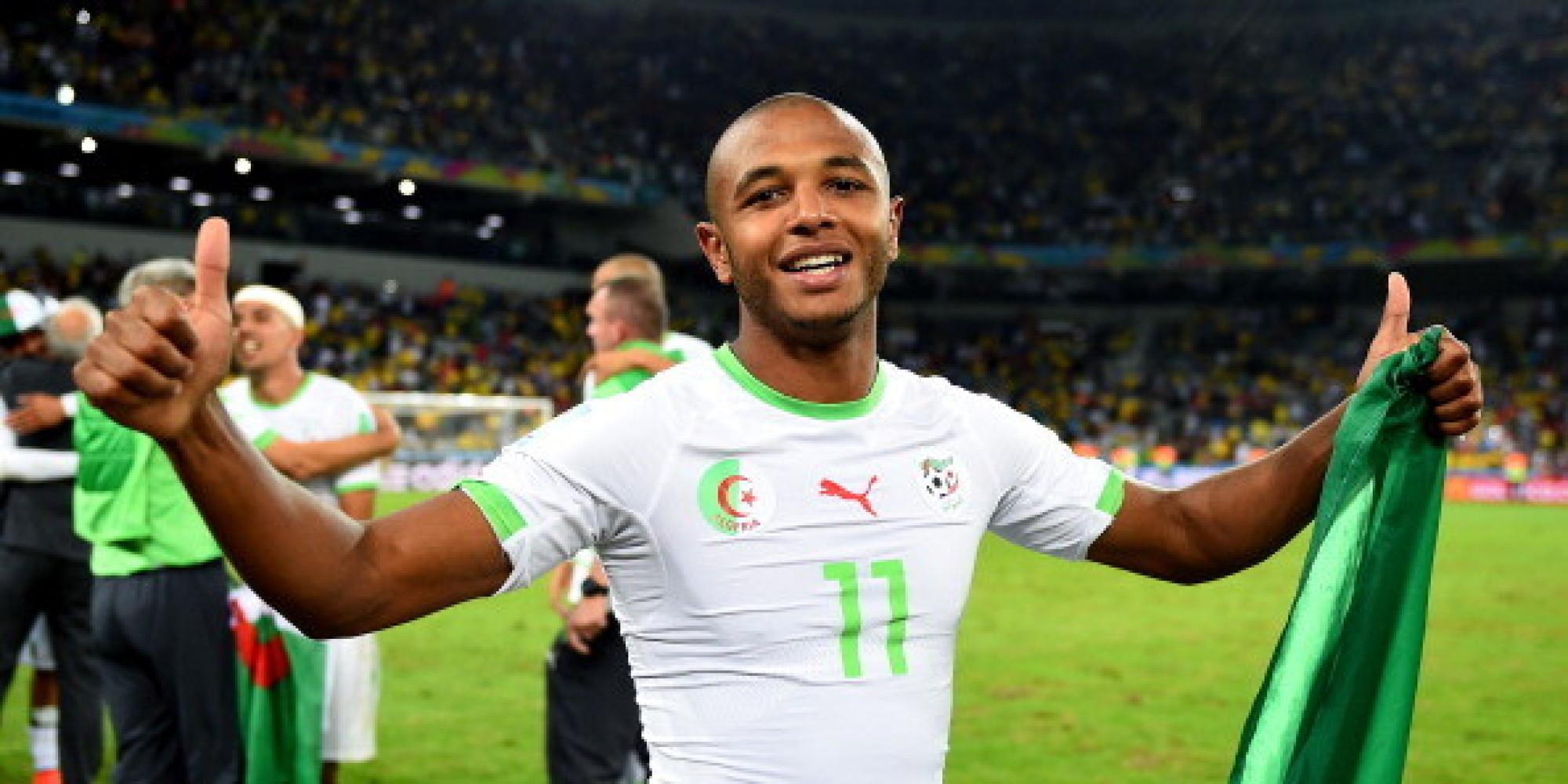 Yacine Brahimi dans le top 100 des footballeurs en 2014 selon The