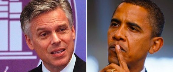 Obama Jon Huntsman Challenge
