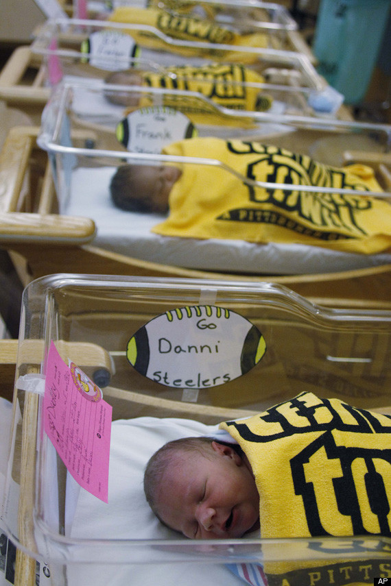 Pittsburgh Hospital Wraps Babies In Steelers Terrible Towels