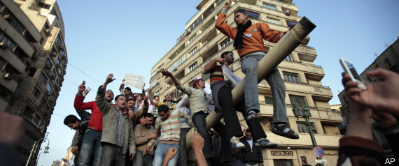 EGYPT PROTESTERS