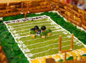 Edible Super Bowl Stadium Field