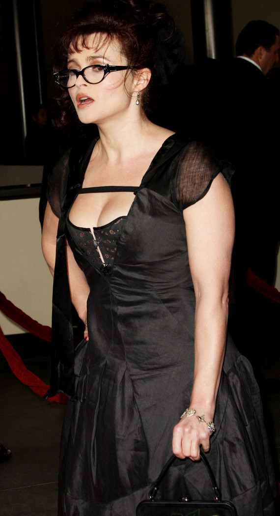 helena bonham carter boobs
