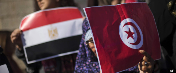 ARAB WORLD PROTESTS