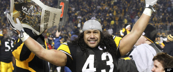 TROY POLAMALU DEFENSIVE PLAYER OF YEAR