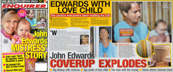 NATIONAL ENQUIRER JOHN EDWARDS