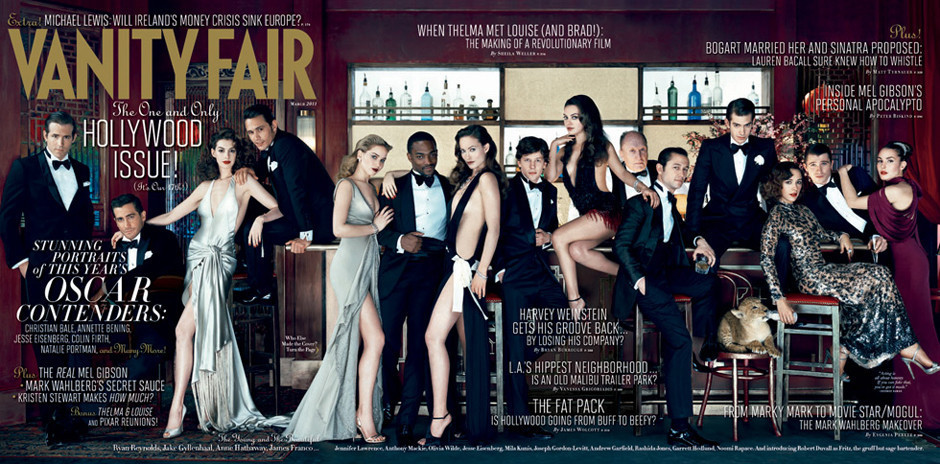 Vanity fair s fantastic diverse hollywood issue cover for A b mackie salon