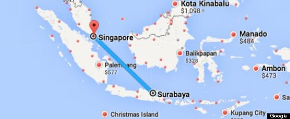 AirAsia Flight From Indonesia To Singapore Loses Contact With Air ...