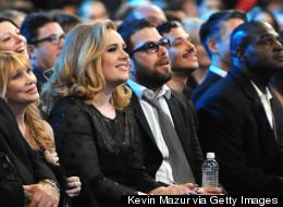 Adele And Boyfriend Simon 'Living Apart'