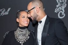 Swizz Beats and Alicia Keys