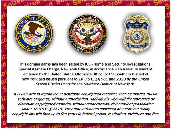 ATDHE, Sports Streaming Website, Seized By Homeland Security