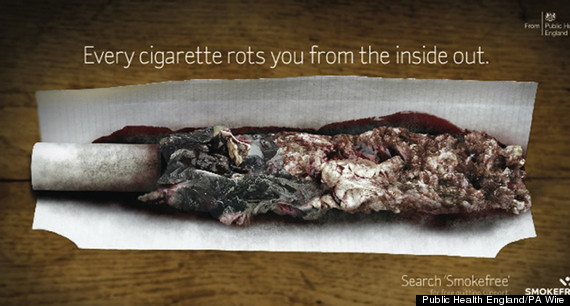 cigarette advert