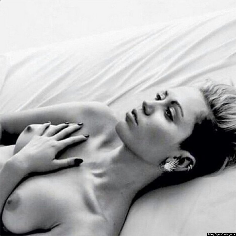 Miley cyrus nude nipple