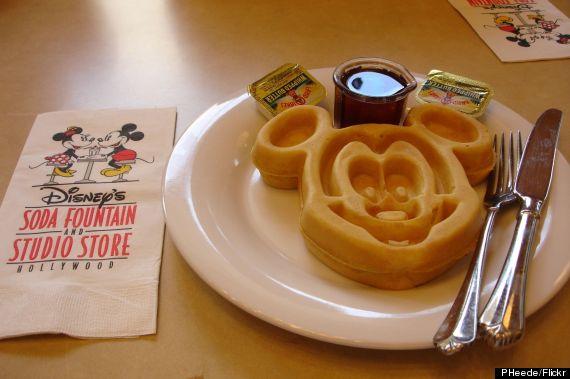 mickey waffle disney