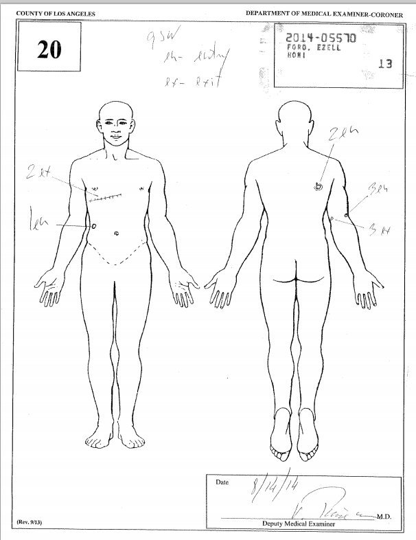 ezell ford autopsy