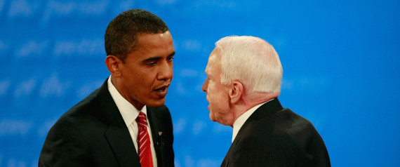 OBAMA MCCAIN MEETING