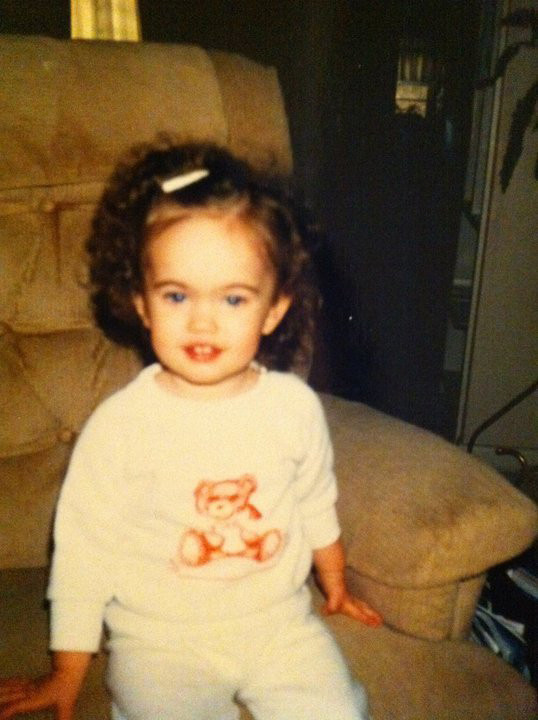 megan fox childhood pictures