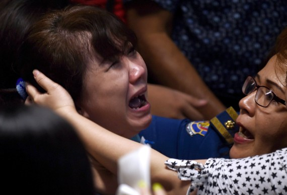 missing airasia plane families