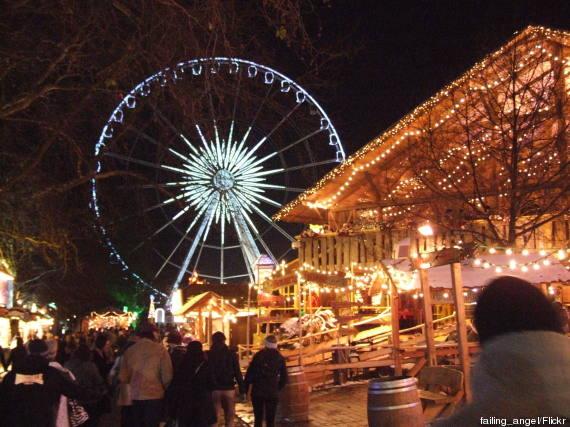 hyde park london night