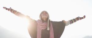 Winter Sun Woman