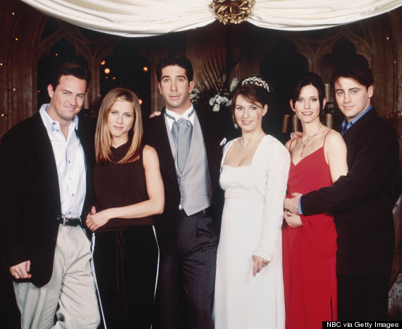 the one with ross wedding friends