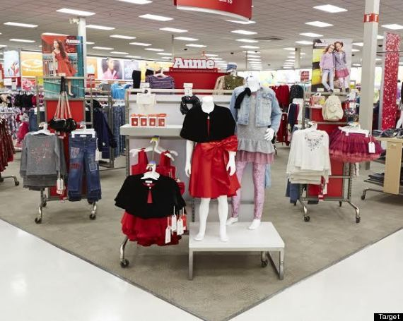 target under fire for using white model in annie clothing ads