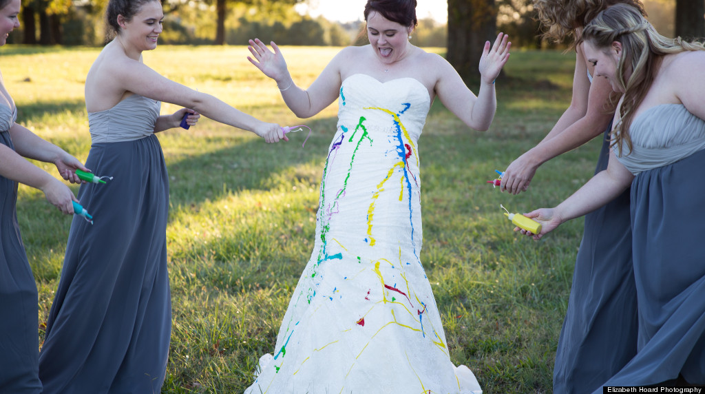 Bride Trashes Gown In Badass Photoshoot After Her Fianc Called Off