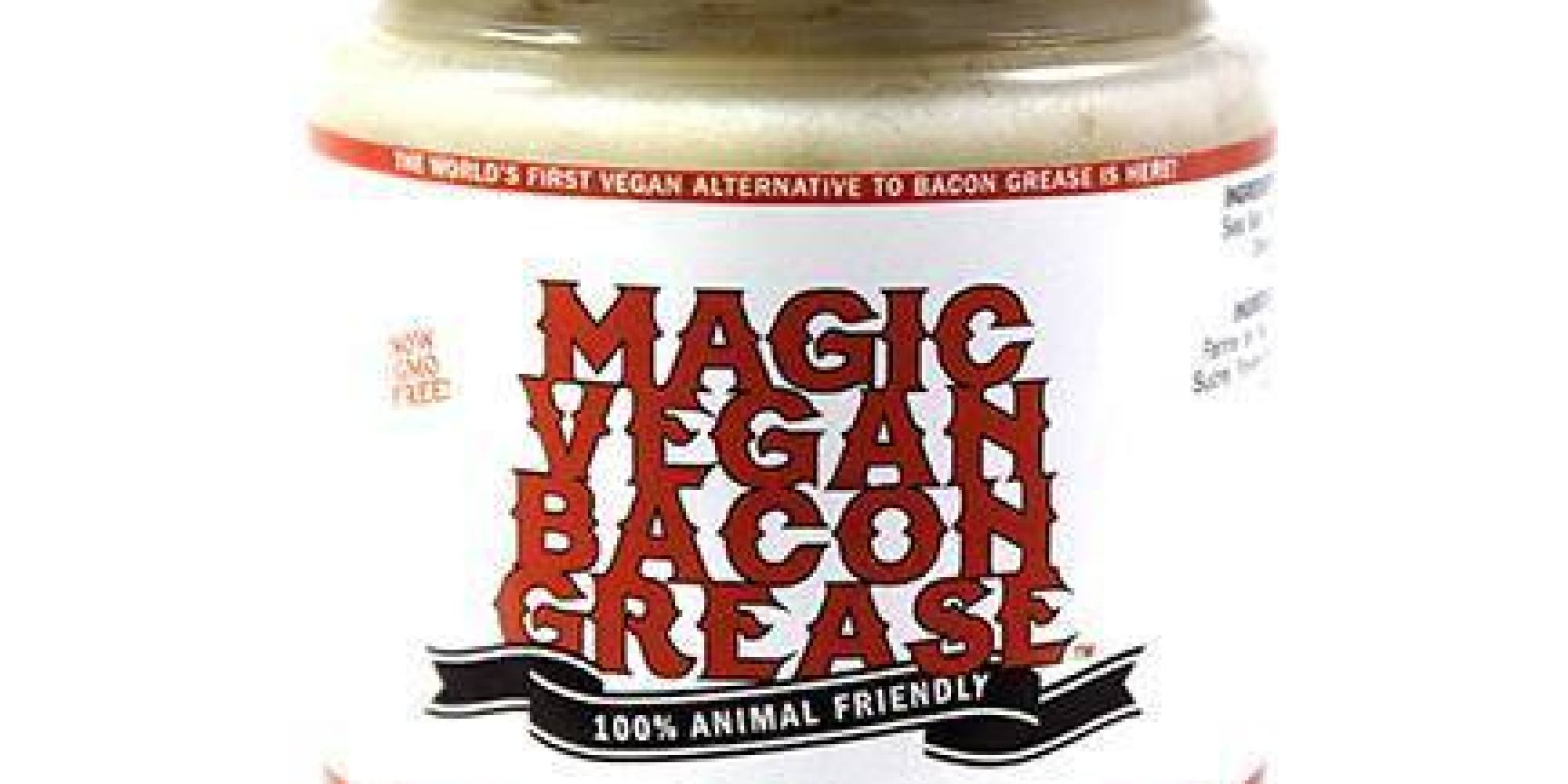 magic vegan bacon grease may be the weirdest vegan food yet huffpost. Black Bedroom Furniture Sets. Home Design Ideas