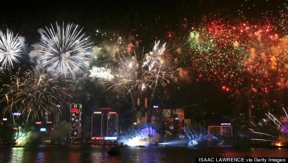 new years hong kong