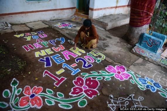 new years india