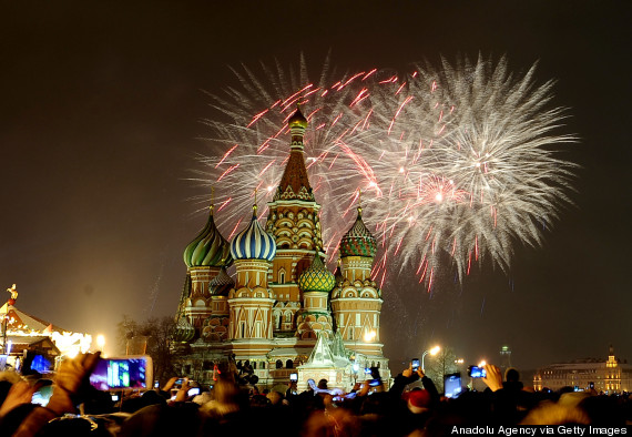 new years moscow