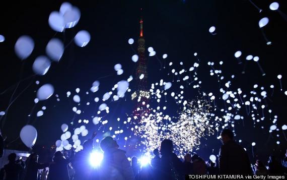 new years tokyo