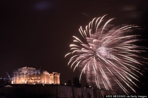 new years greece