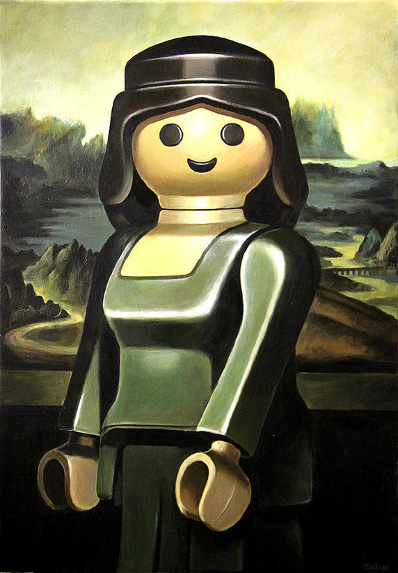 joconde playmobil photos art