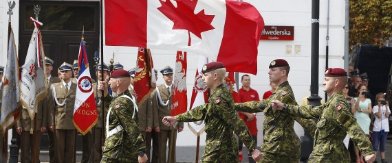 Joining the canadian army as a foreigner
