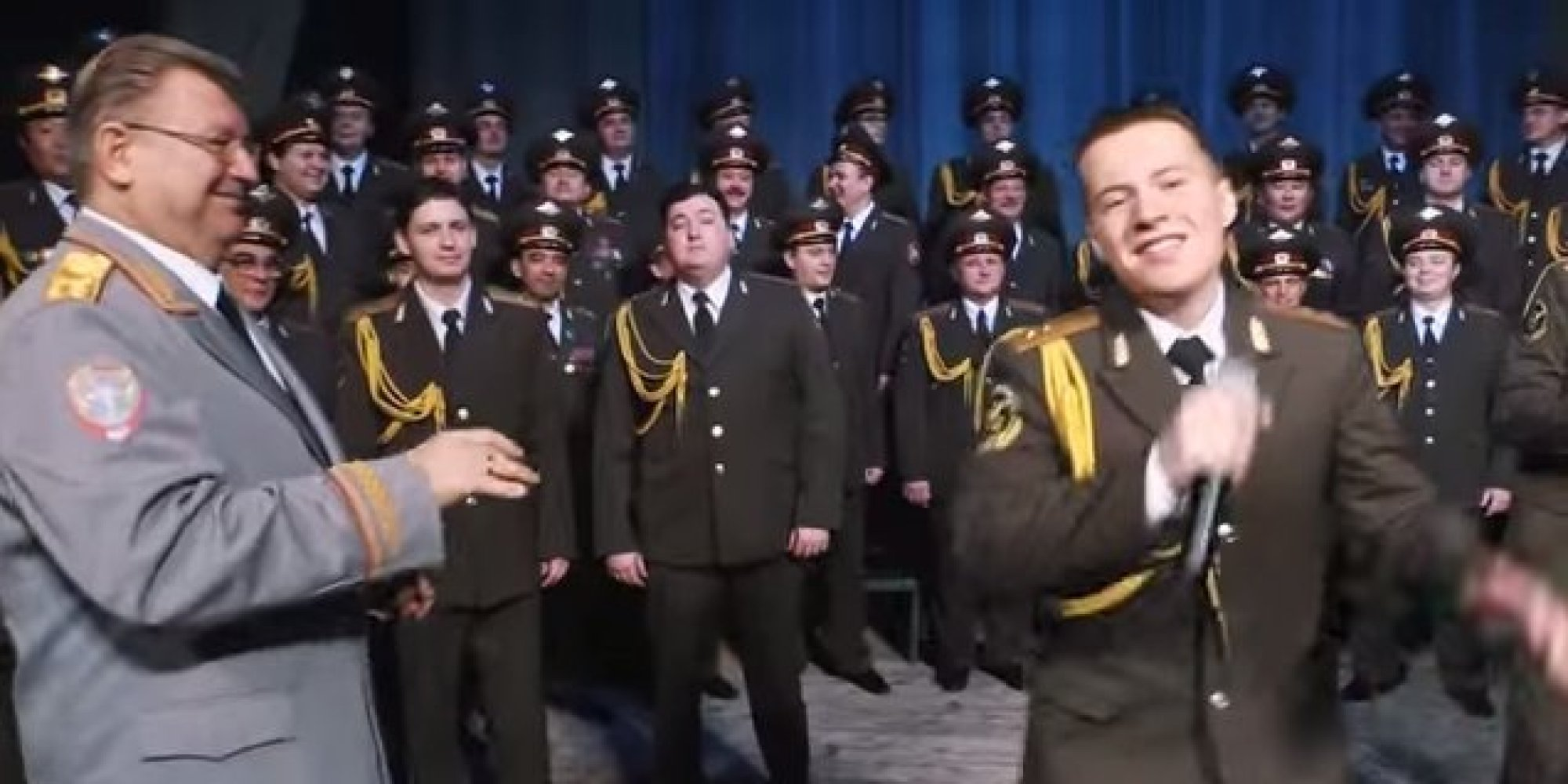 Russian red army choir covers pharrell s happy and surprises us all