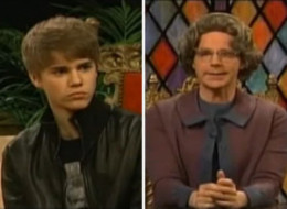 Justin Bieber Church Lady