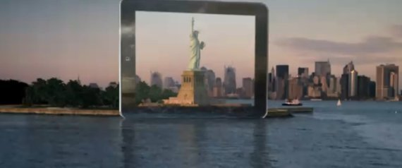 THE DAILY IPAD AD SUPER BOWL