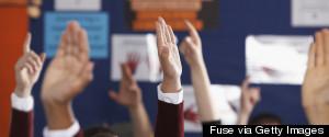 RAISED HAND SCHOOL