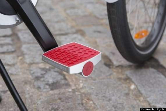 connected cycle pedal