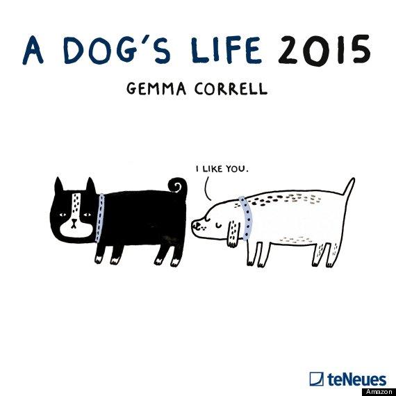 Dogslife 2015 A Dogs Life Wall Calendar