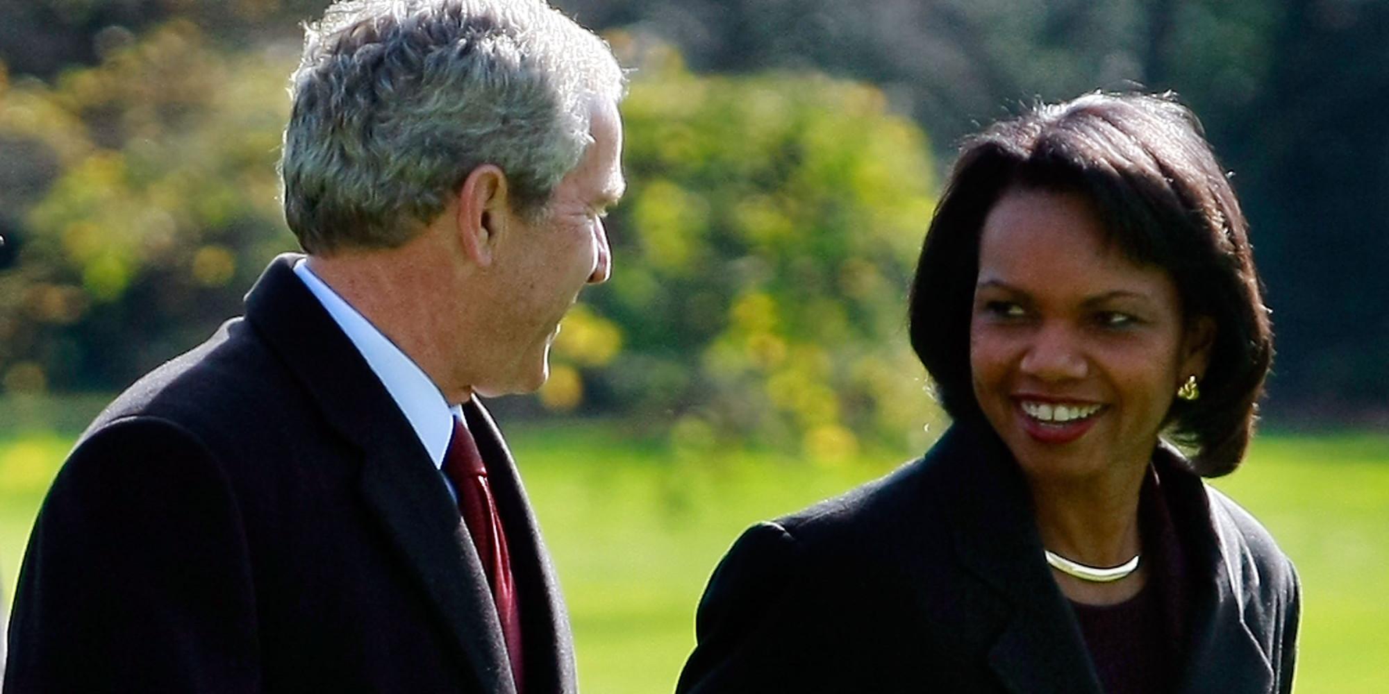 condoleezza rice and george bush relationship
