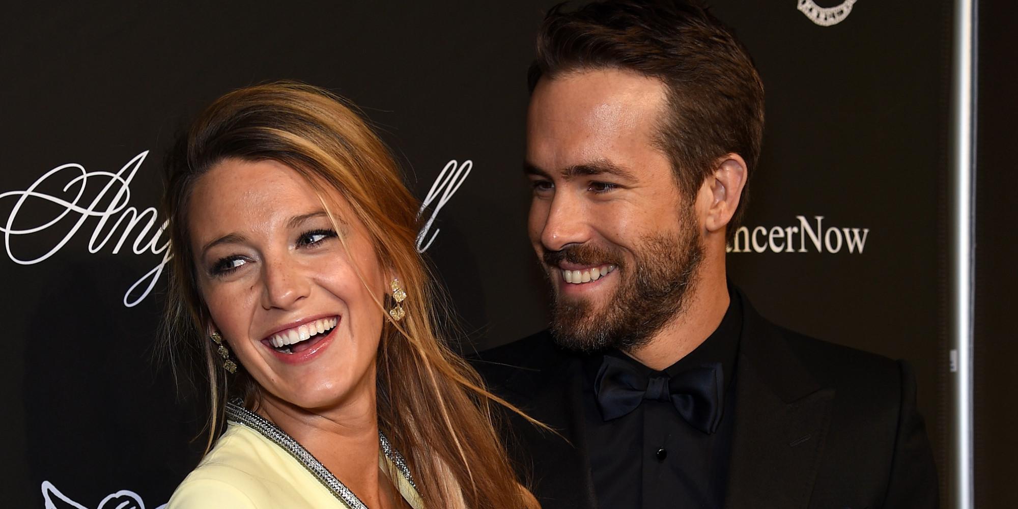 Ryan Reynolds And Blake Lively Blake Lively Reportedl...