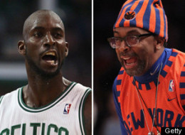 Kevin Garnett Spike Lee