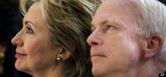 Mccain And Clinton