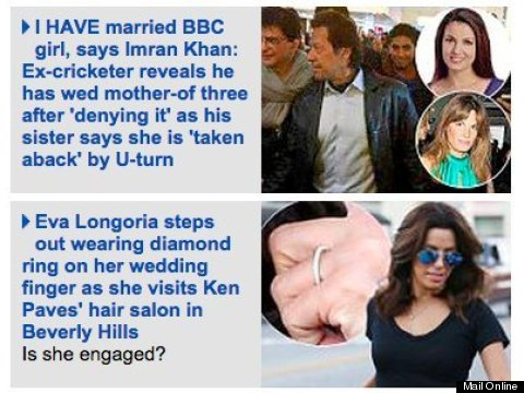 weddings daily mail